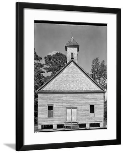 Church, Southeastern U.S.--Framed Art Print