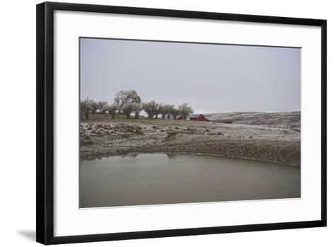 Early Wyoming Morning-Amanda Lee Smith-Framed Art Print
