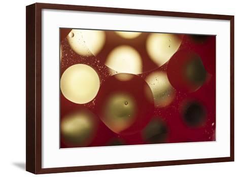 Glowing Moons-Carrie Webster-Framed Art Print