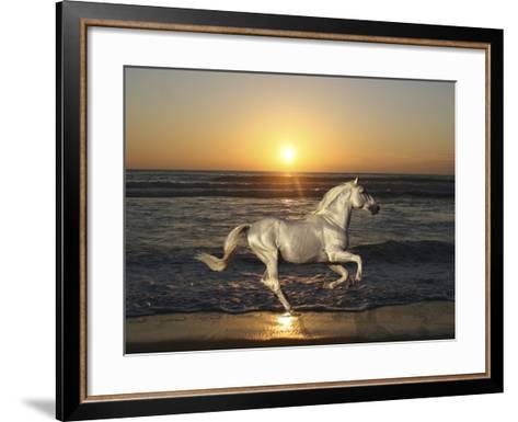 Sunset-Bob Langrish-Framed Art Print