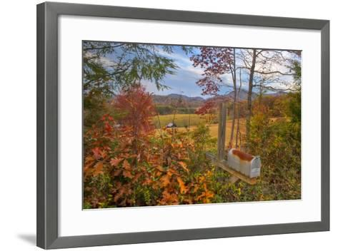 Mailbox-Bob Rouse-Framed Art Print