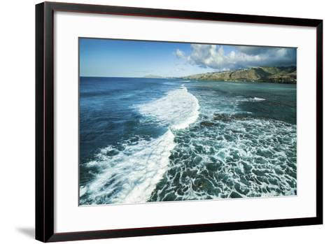 Hawaii Kai Waves-Cameron Brooks-Framed Art Print