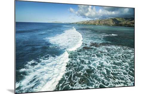 Hawaii Kai Waves-Cameron Brooks-Mounted Photographic Print