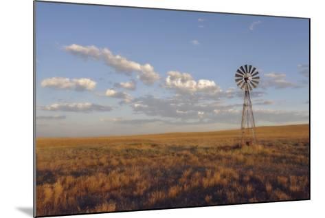 South Leunberger Windmill at Sunset-Amanda Lee Smith-Mounted Photographic Print