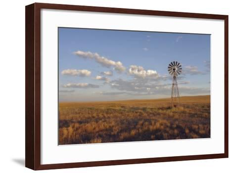 South Leunberger Windmill at Sunset-Amanda Lee Smith-Framed Art Print