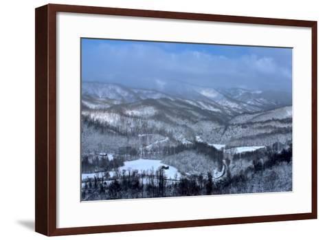 Mountain View-Bob Rouse-Framed Art Print