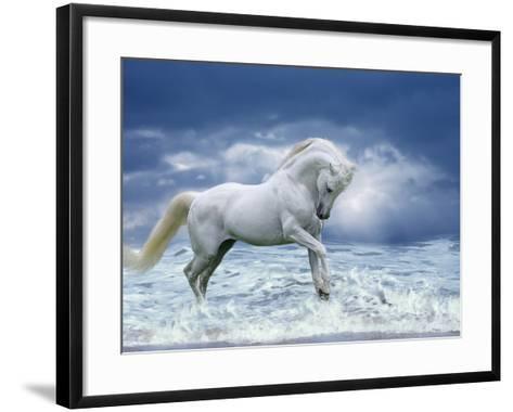 Stormy Skies-Bob Langrish-Framed Art Print