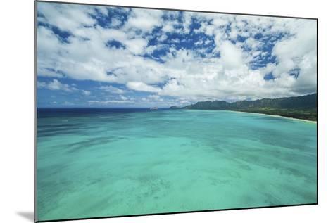 The Edge of Waimanalo-Cameron Brooks-Mounted Photographic Print