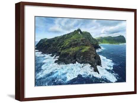 The Horn of Makapu'u-Cameron Brooks-Framed Art Print