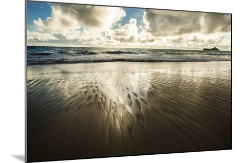 Waimanalo Beach Sunrise-Cameron Brooks-Mounted Photographic Print