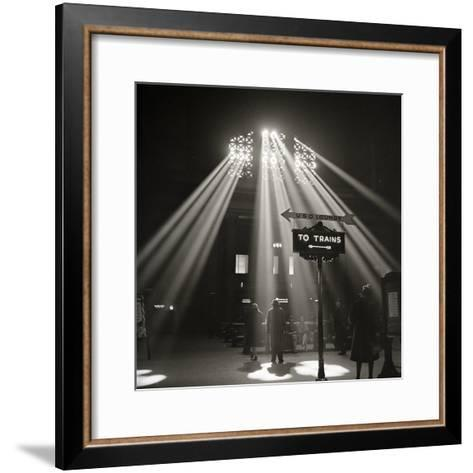 Waiting Room of the Union Station, Chicago--Framed Art Print