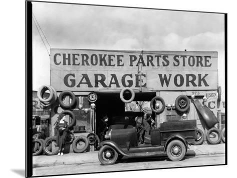 Auto Parts Shop, Atlanta, Georgia--Mounted Photographic Print