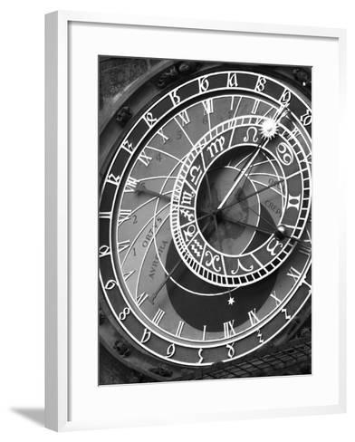 Astronomic Watch Prague 11-Moises Levy-Framed Art Print
