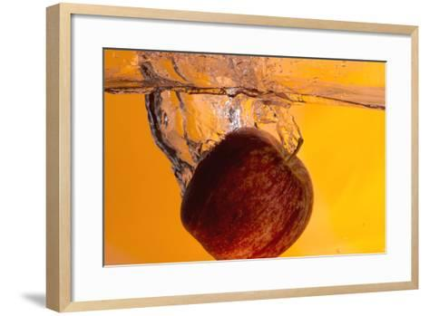 Apple Underwater-Gordon Semmens-Framed Art Print