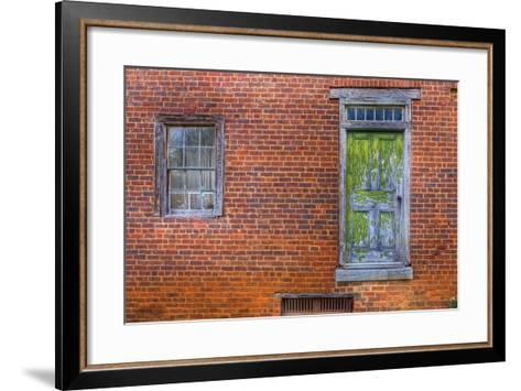Window and Door-Bob Rouse-Framed Art Print