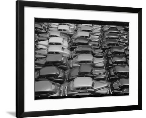 Chicago Parking Lot--Framed Art Print
