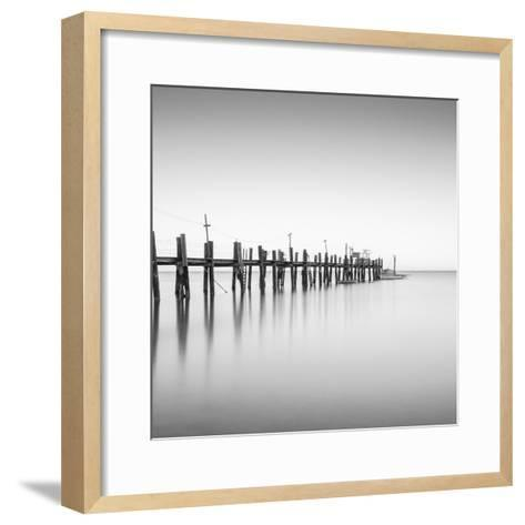 China Camp Pano BW 2 of 3-Moises Levy-Framed Art Print