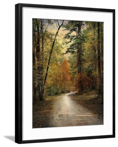 Autumn Forest 4-Jai Johnson-Framed Art Print