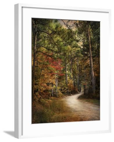 Autumn Forest 2-Jai Johnson-Framed Art Print
