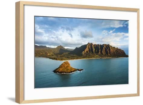 Kualoa Dawn-Cameron Brooks-Framed Art Print