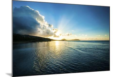 Kahala Sunrise-Cameron Brooks-Mounted Photographic Print