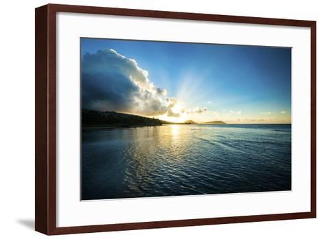 Kahala Sunrise-Cameron Brooks-Framed Art Print