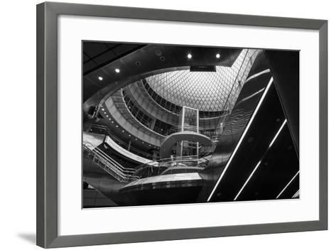 The Station-Eye Of The Mind Photography-Framed Art Print