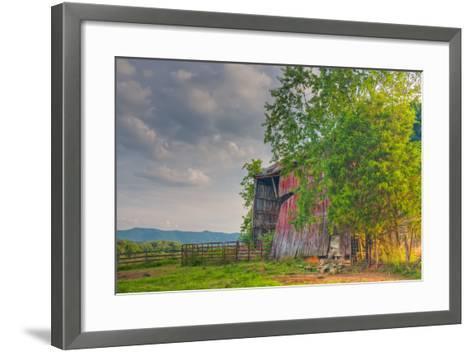 Mayberry Barn-Bob Rouse-Framed Art Print
