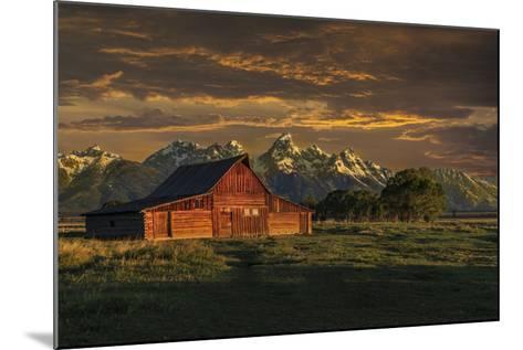 Moulton Barn Sunrise-Galloimages Online-Mounted Photographic Print