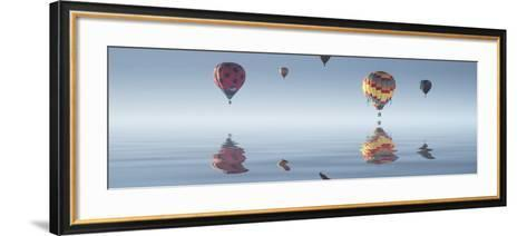 Love is in Air VIII-Moises Levy-Framed Art Print