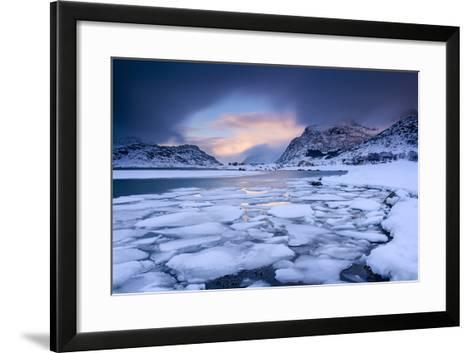 There's a Hole-Michael Blanchette-Framed Art Print