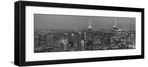 Gotham City 8-2-Moises Levy-Framed Art Print