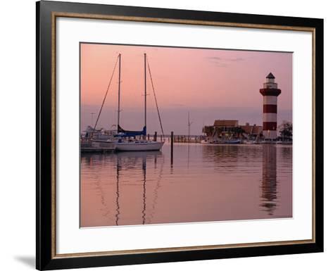 Harbortown-J.D. Mcfarlan-Framed Art Print
