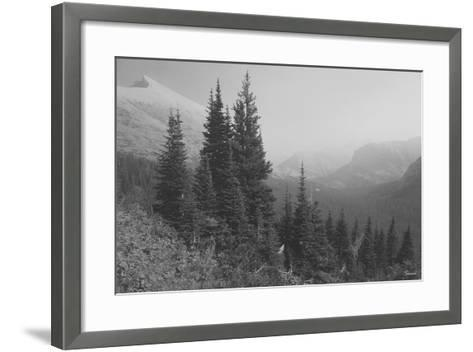 Glacier 3-Gordon Semmens-Framed Art Print