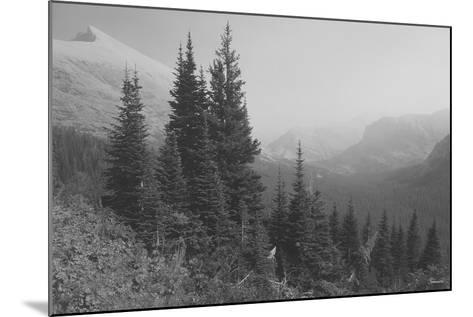 Glacier 3-Gordon Semmens-Mounted Photographic Print