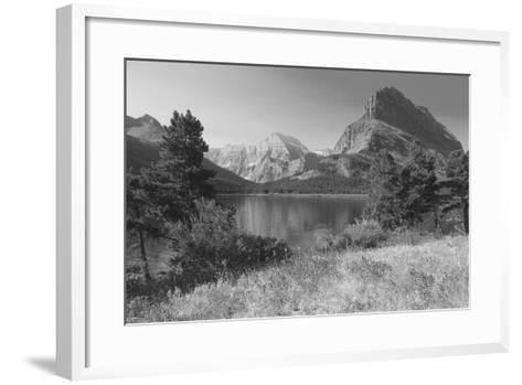 Glacier 4-Gordon Semmens-Framed Art Print