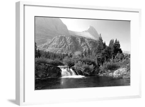 Glacier 6-Gordon Semmens-Framed Art Print