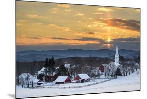 Peace over Peacham-Michael Blanchette-Mounted Photographic Print