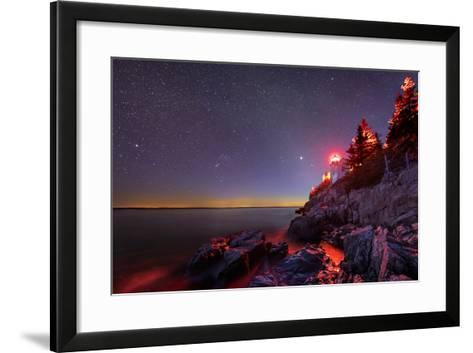 Red Lantern-Michael Blanchette-Framed Art Print
