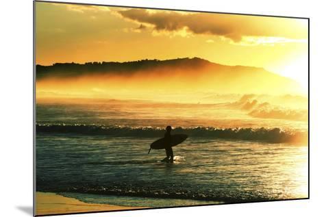 Sunrise Surf-Incredi-Mounted Photographic Print