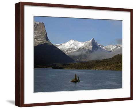 Glacier Park II-J.D. Mcfarlan-Framed Art Print