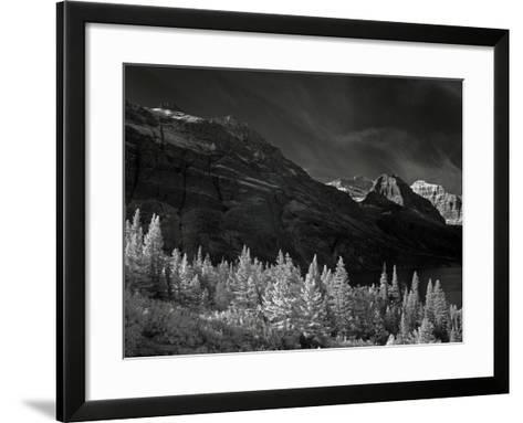 Glacier Park I-J.D. Mcfarlan-Framed Art Print