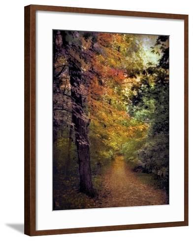 Autumn Trail-Jessica Jenney-Framed Art Print