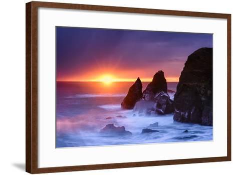 Eye of the Sun-Michael Blanchette-Framed Art Print