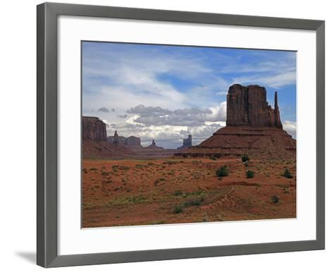 Monument Valley II-J.D. Mcfarlan-Framed Art Print