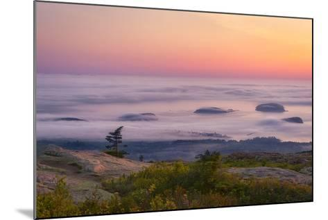 Islands in the Fog-Michael Blanchette-Mounted Photographic Print