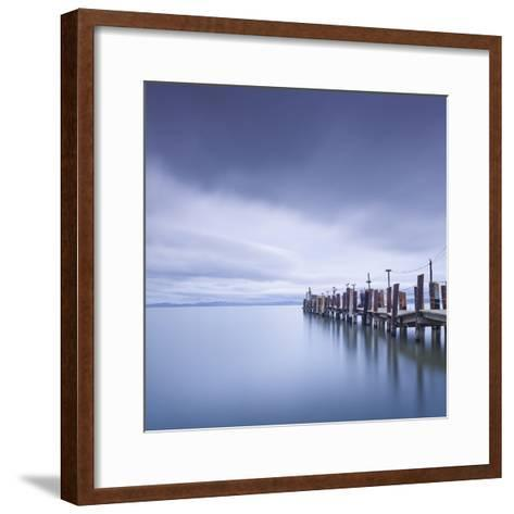 China Camp Pier-Moises Levy-Framed Art Print