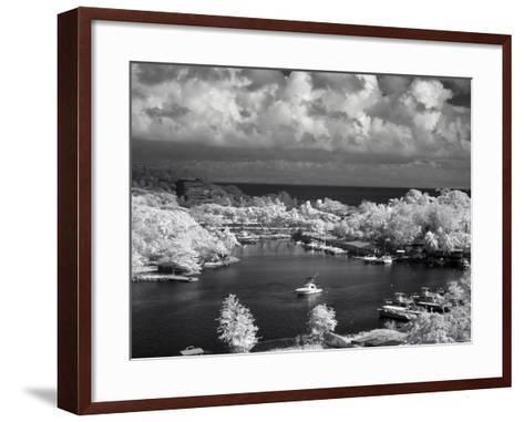 St. Lucia-J.D. Mcfarlan-Framed Art Print