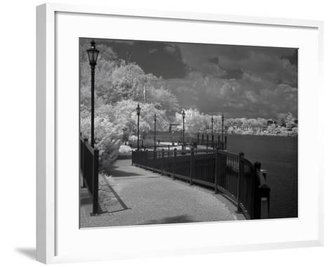 Augusta Riverwalk-J.D. Mcfarlan-Framed Art Print