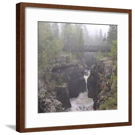 Lake Superior 49s-Gordon Semmens-Framed Art Print